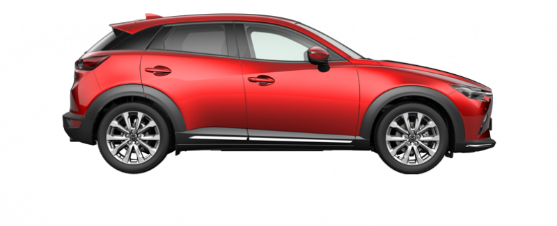 Mazda CX-3 Signature red
